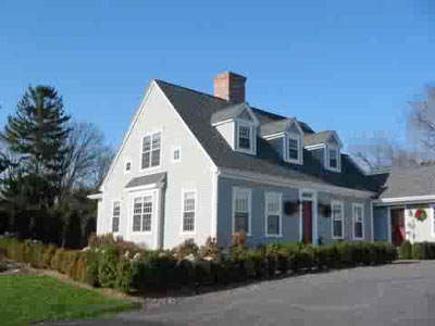 Colonial reproductions jem builders inc mystic ct for Reproduction homes